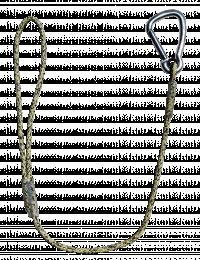 Métalliques et accessoires Attache ligne guide Babouin - 0.60 m