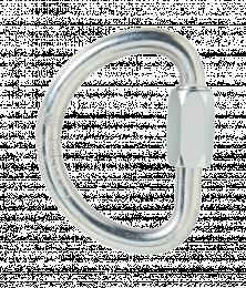 Métalliques et accessoires Maillon rapide demi-lune acier