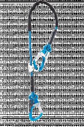 Longes Longes réglables Equa R - 1.00 m - 2 Mousquetons Tango Bleus